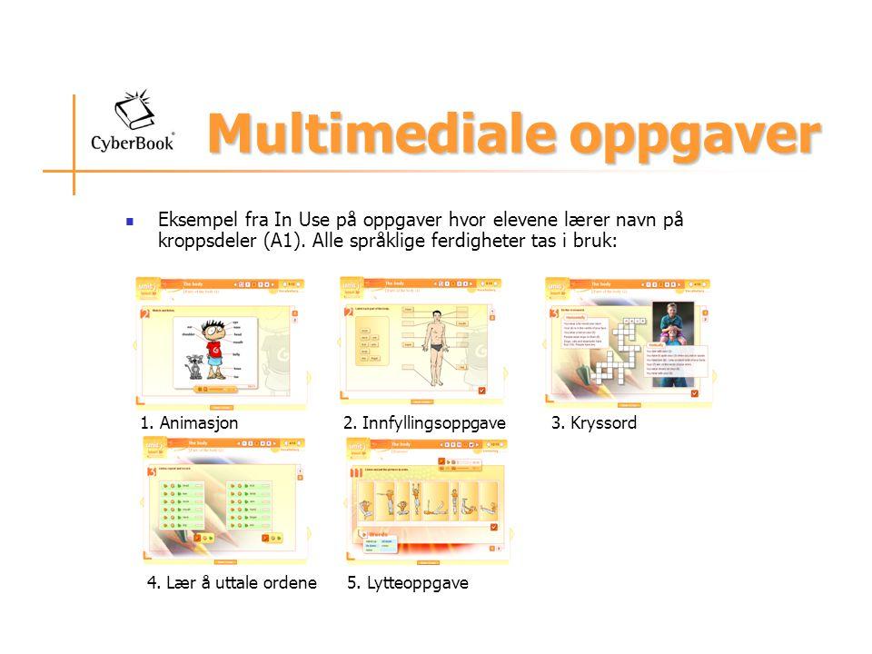 Multimediale oppgaver