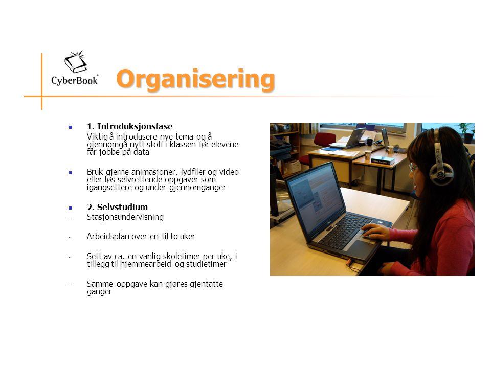 Organisering 1. Introduksjonsfase
