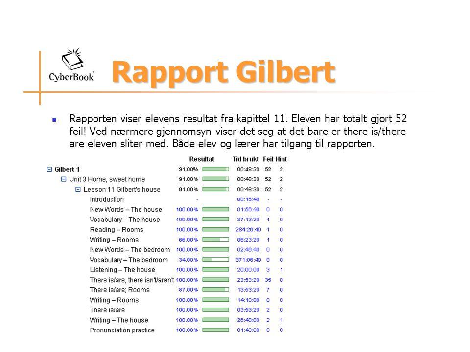 Rapport Gilbert