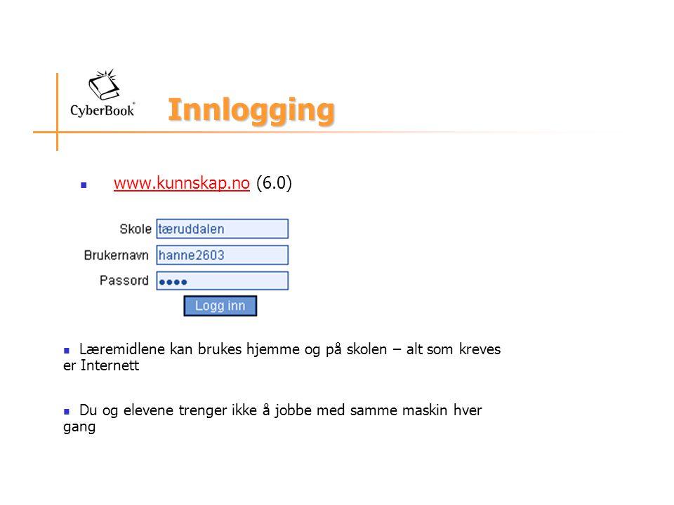 Innlogging www.kunnskap.no (6.0)