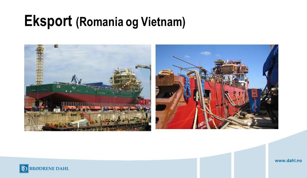 Eksport (Romania og Vietnam)
