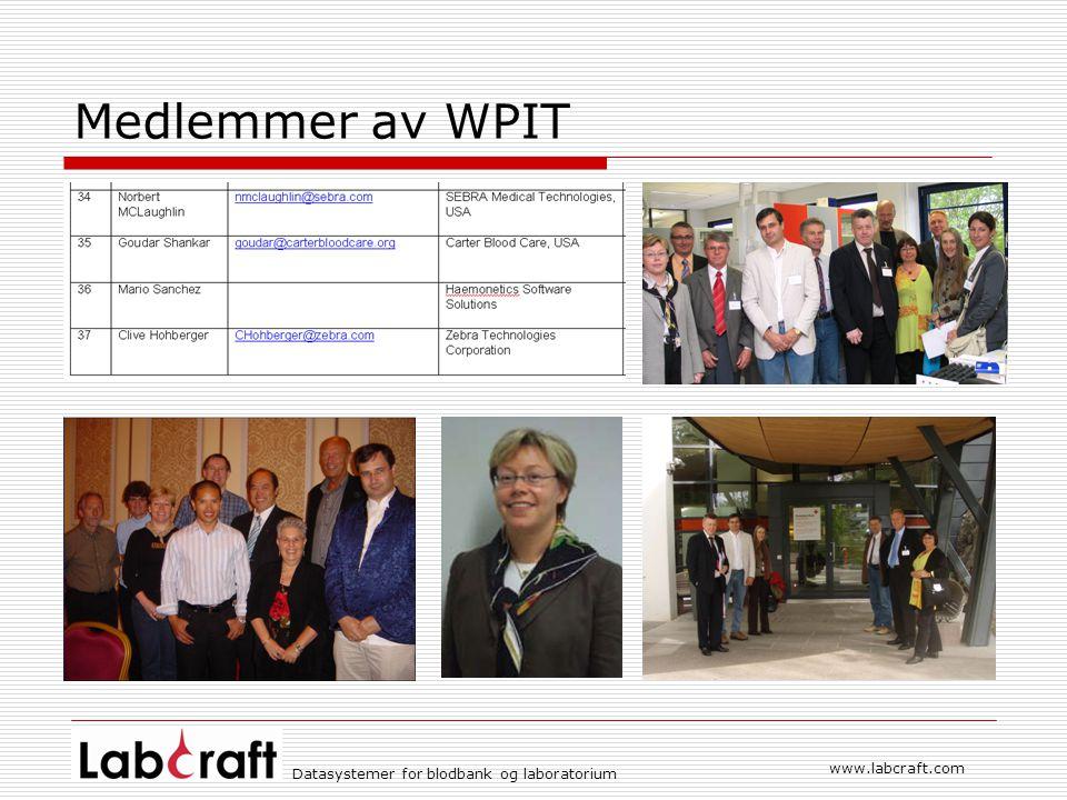 Medlemmer av WPIT www.labcraft.com