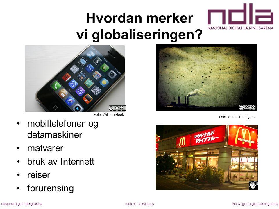 Hvordan merker vi globaliseringen