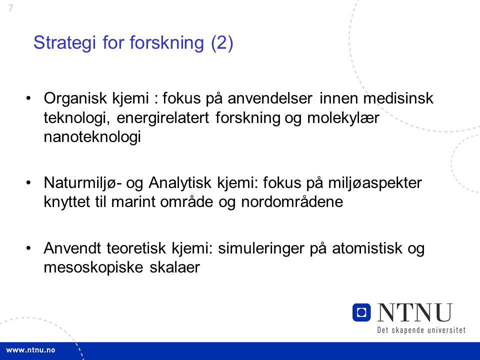 Strategi for forskning (2)