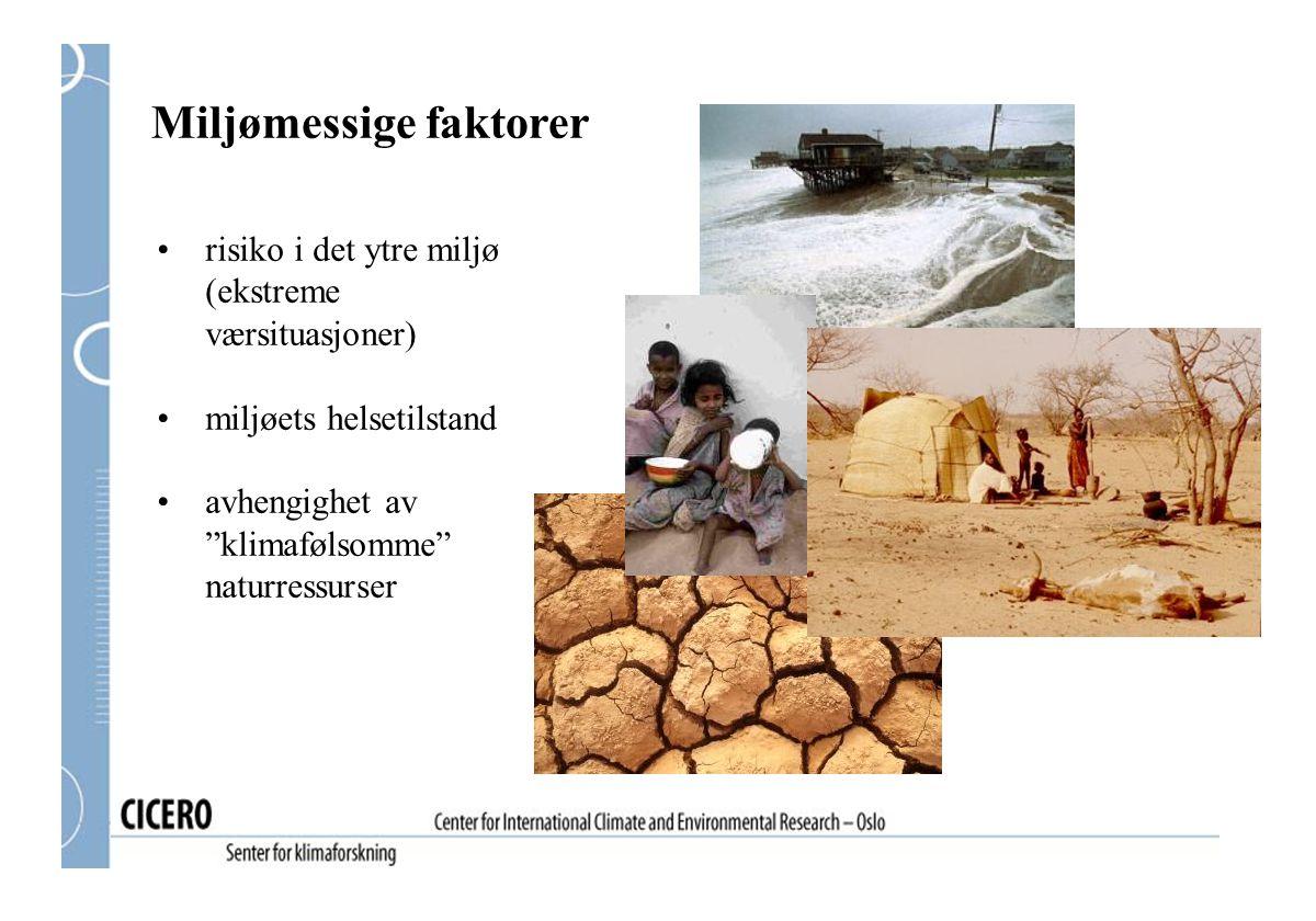 Miljømessige faktorer