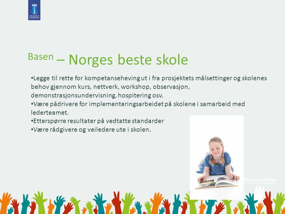 Basen – Norges beste skole