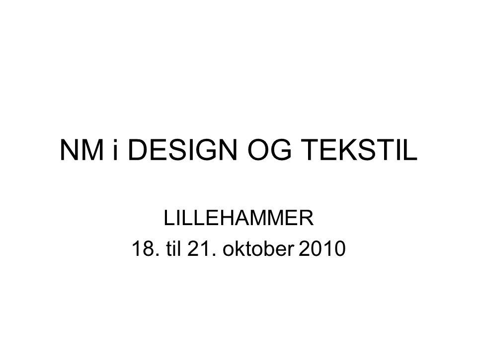 LILLEHAMMER 18. til 21. oktober 2010