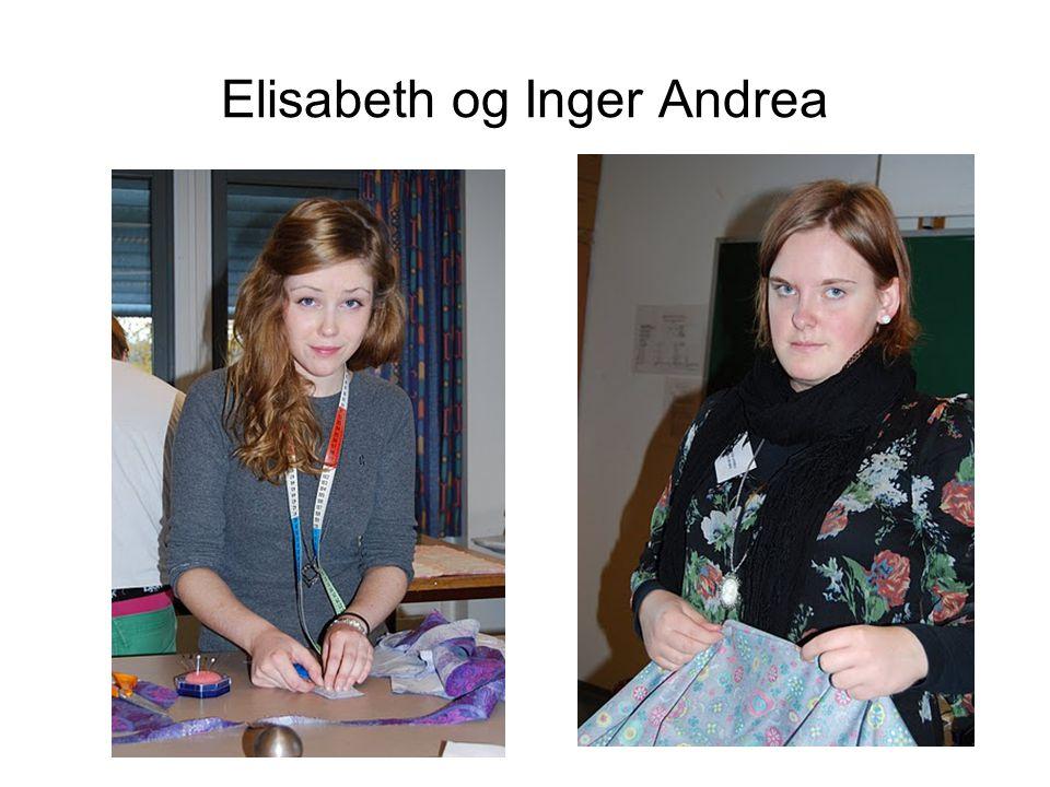 Elisabeth og Inger Andrea