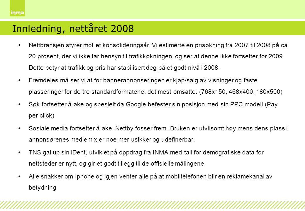 Innledning, nettåret 2008