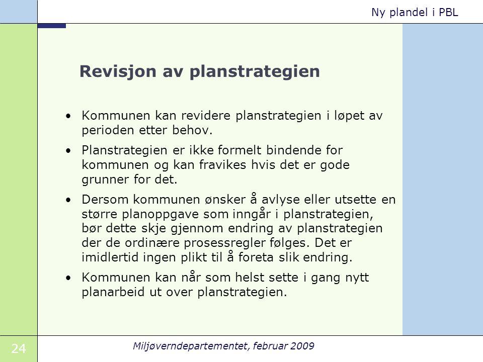 Revisjon av planstrategien