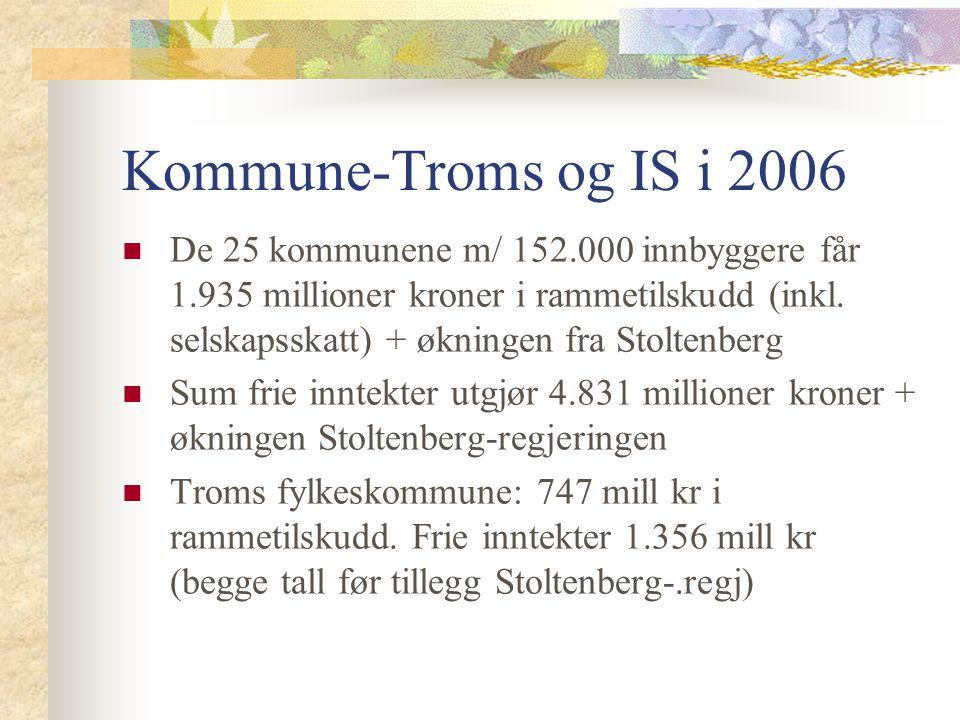 Kommune-Troms og IS i 2006