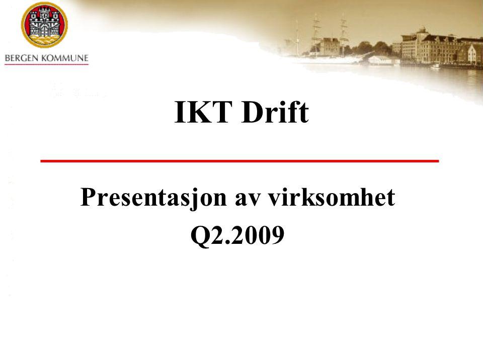 Presentasjon av virksomhet Q2.2009