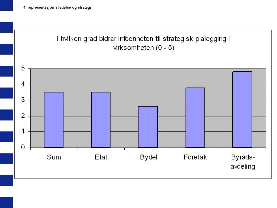 4. representasjon i ledelse og strategi