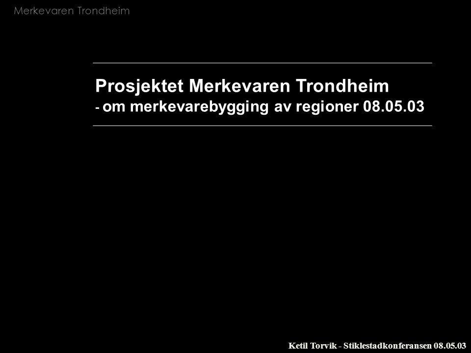Prosjektet Merkevaren Trondheim - om merkevarebygging av regioner 08