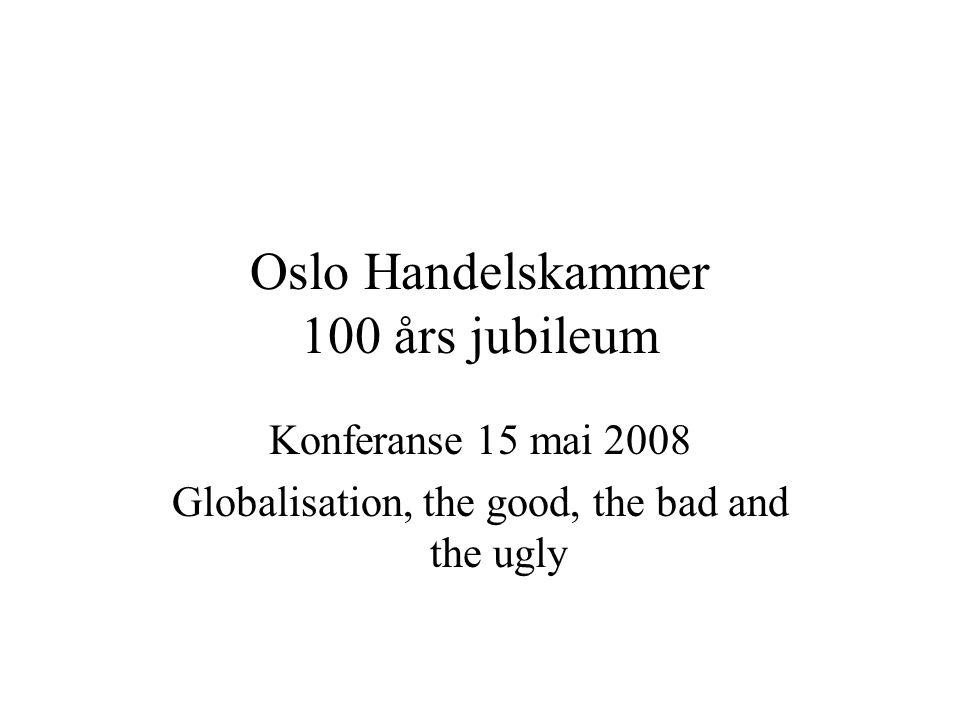 Oslo Handelskammer 100 års jubileum