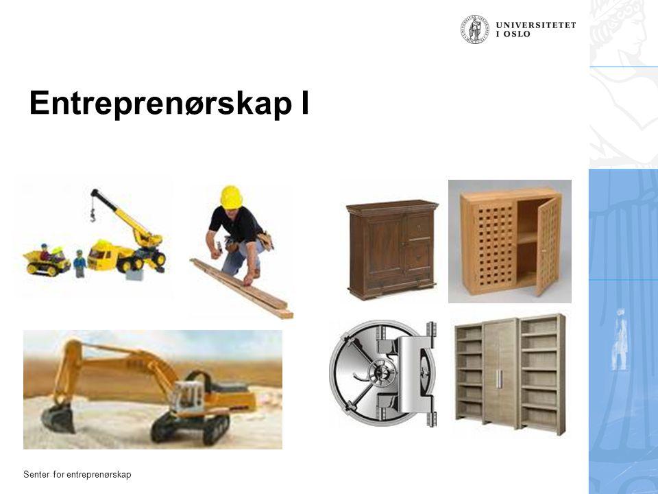 Entreprenørskap I