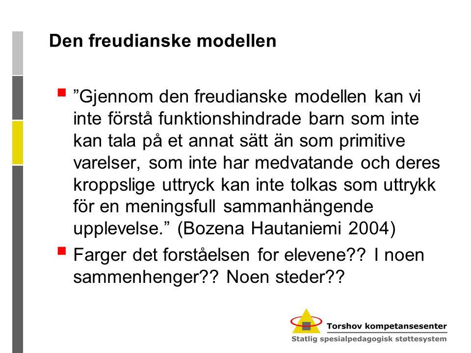 Den freudianske modellen