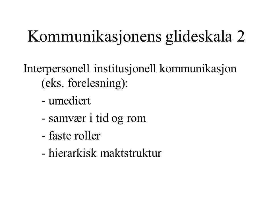 Kommunikasjonens glideskala 2