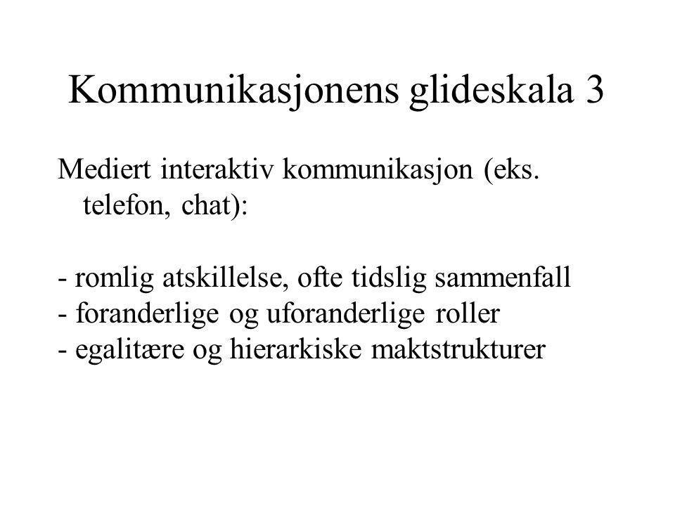 Kommunikasjonens glideskala 3
