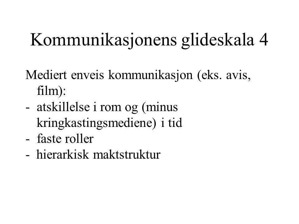 Kommunikasjonens glideskala 4