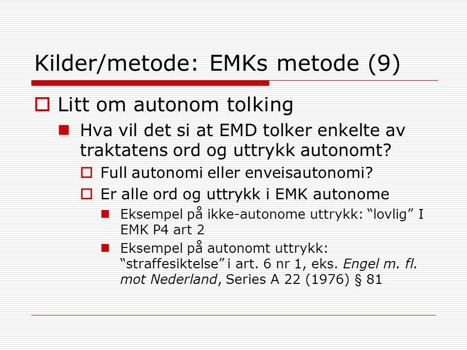 Kilder/metode: EMKs metode (9)