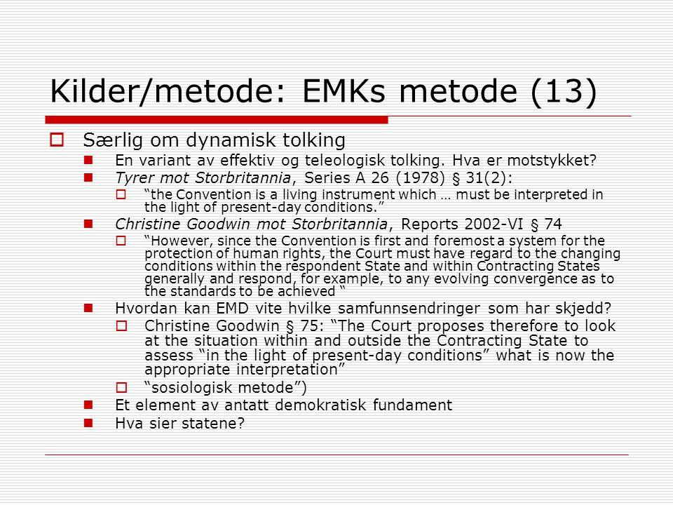 Kilder/metode: EMKs metode (13)