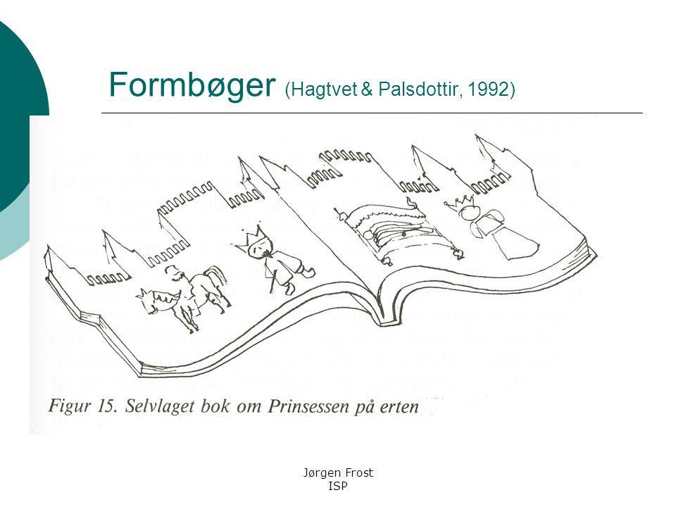 Formbøger (Hagtvet & Palsdottir, 1992)