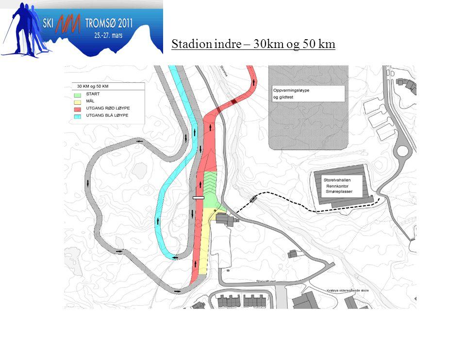 Stadion indre – 30km og 50 km