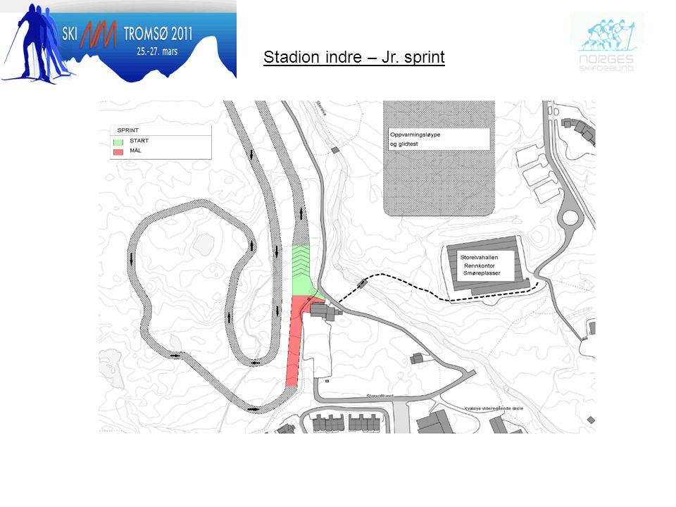 Stadion indre – Jr. sprint