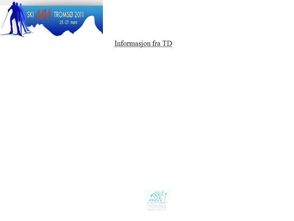 Informasjon fra TD