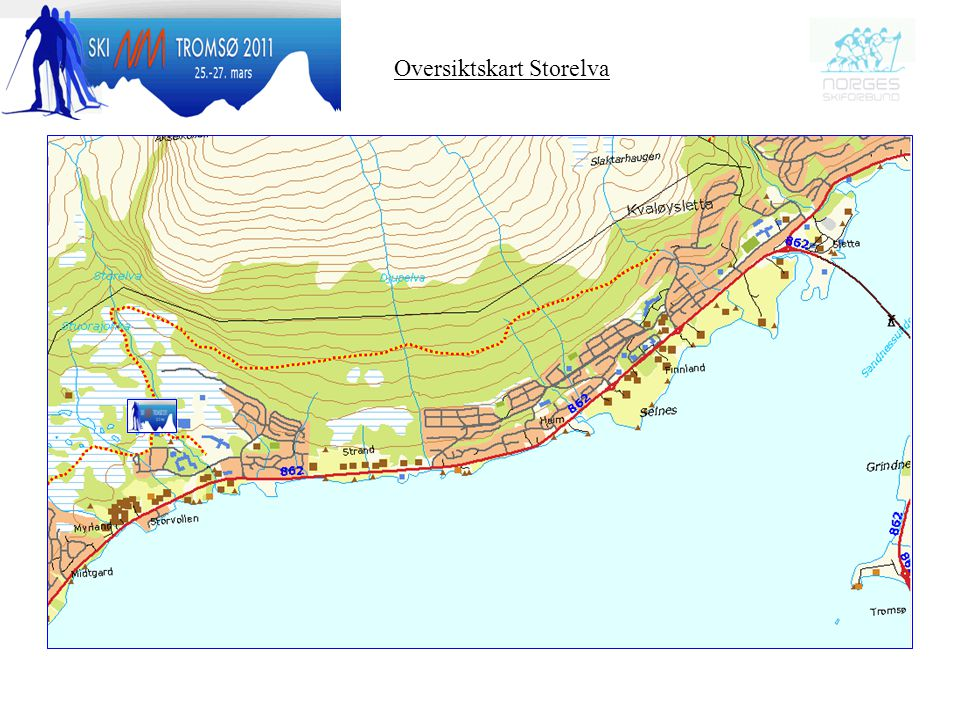 Oversiktskart Storelva