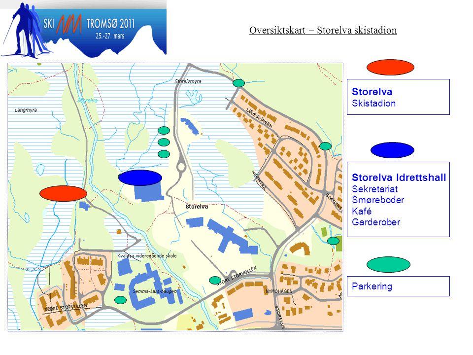 Oversiktskart – Storelva skistadion