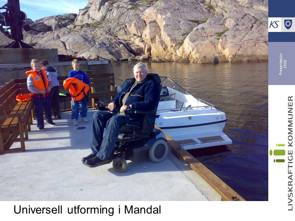 Universell utforming i Mandal