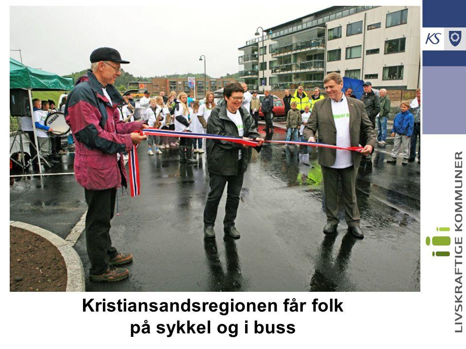 Kristiansandsregionen får folk