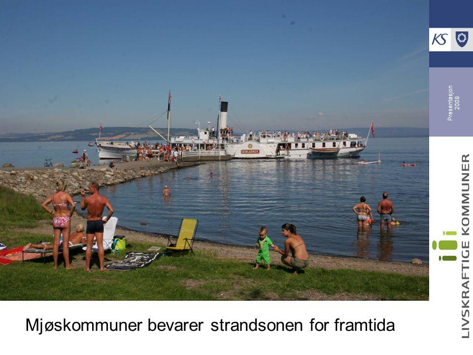 Mjøskommuner bevarer strandsonen for framtida
