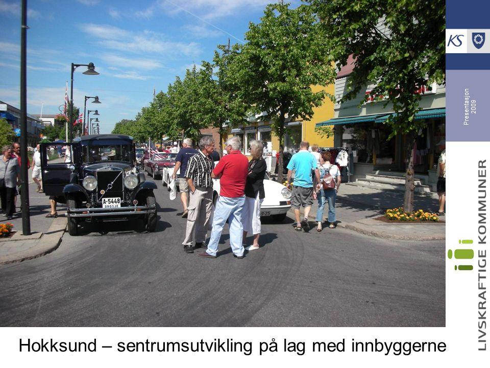 Hokksund – sentrumsutvikling på lag med innbyggerne