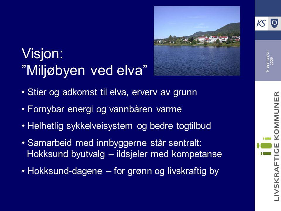 Visjon: Miljøbyen ved elva