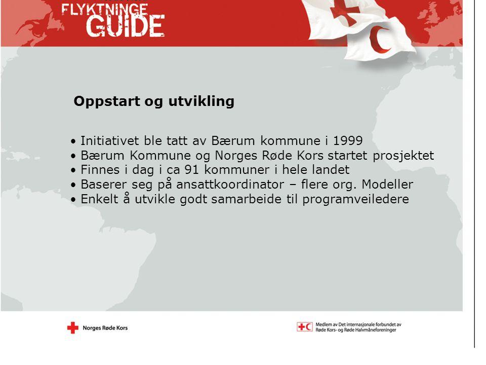 Oppstart og utvikling Initiativet ble tatt av Bærum kommune i 1999