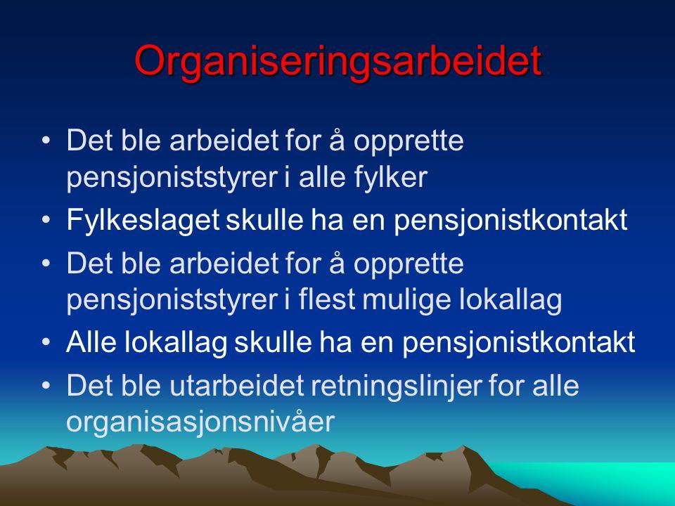 Organiseringsarbeidet
