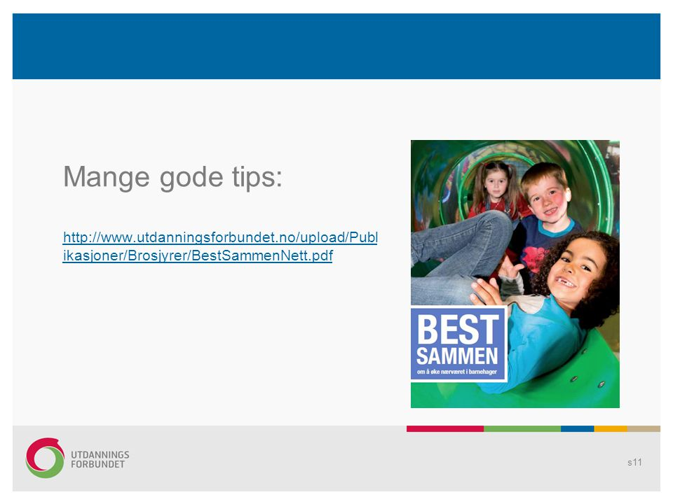 Mange gode tips: http://www.utdanningsforbundet.no/upload/Publikasjoner/Brosjyrer/BestSammenNett.pdf.