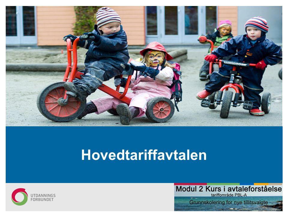 Hovedtariffavtalen Oppdatert per 23.6.2011