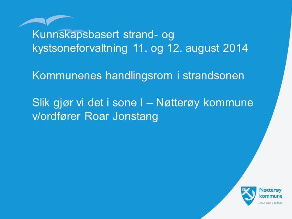 Kunnskapsbasert strand- og kystsoneforvaltning 11. og 12