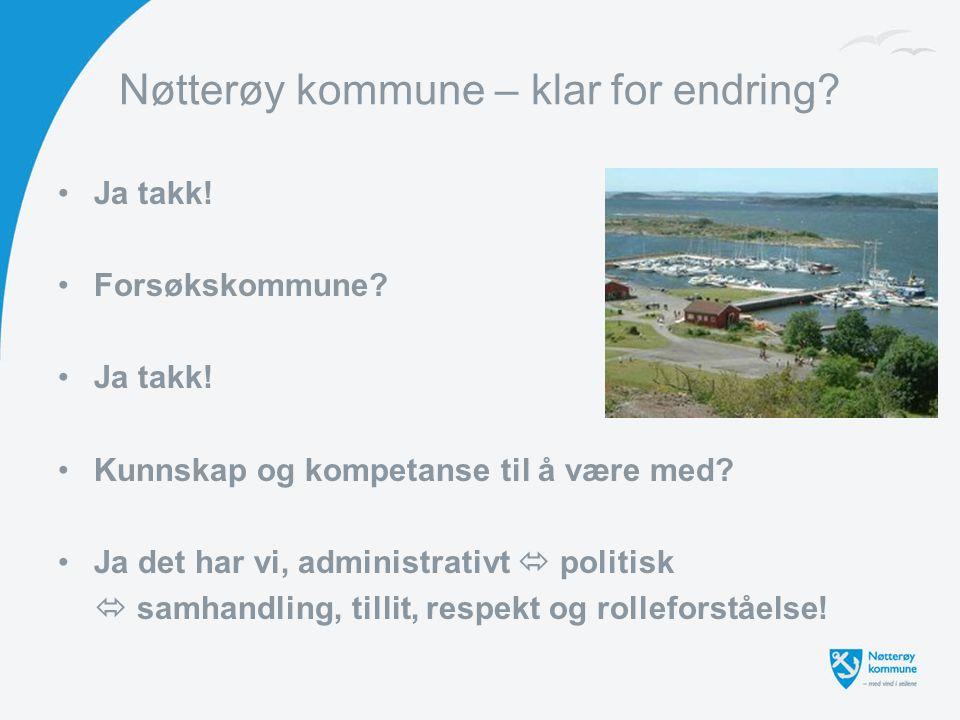 Nøtterøy kommune – klar for endring