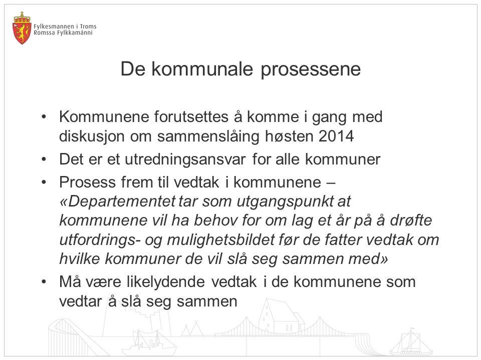 De kommunale prosessene