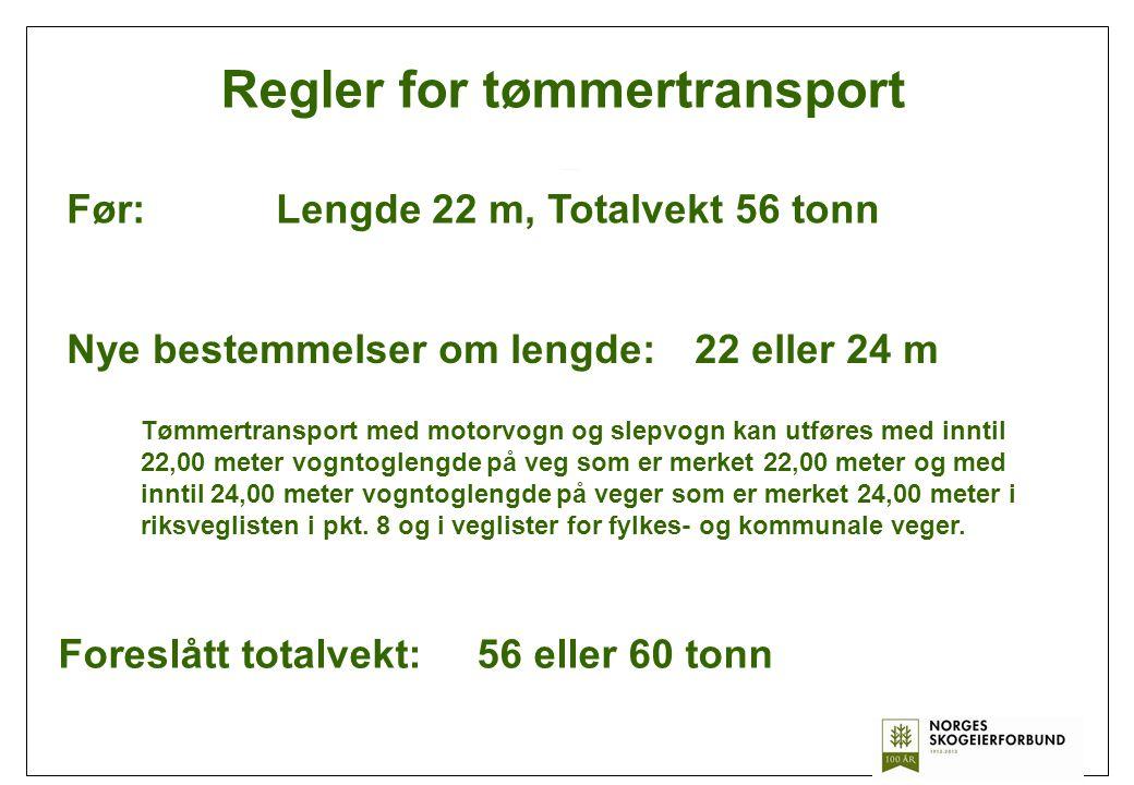Regler for tømmertransport