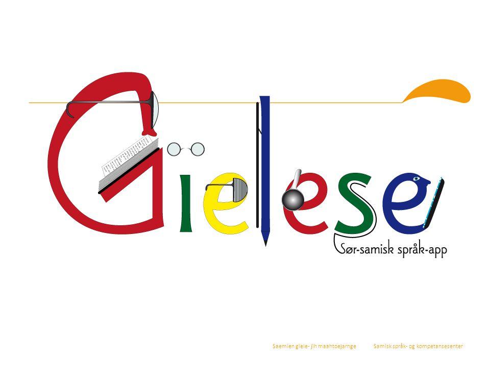 Manne edtjem soptsestidh akten orre åarjelsaemien applikasjovnen bïjre man nomme «Gïelese».