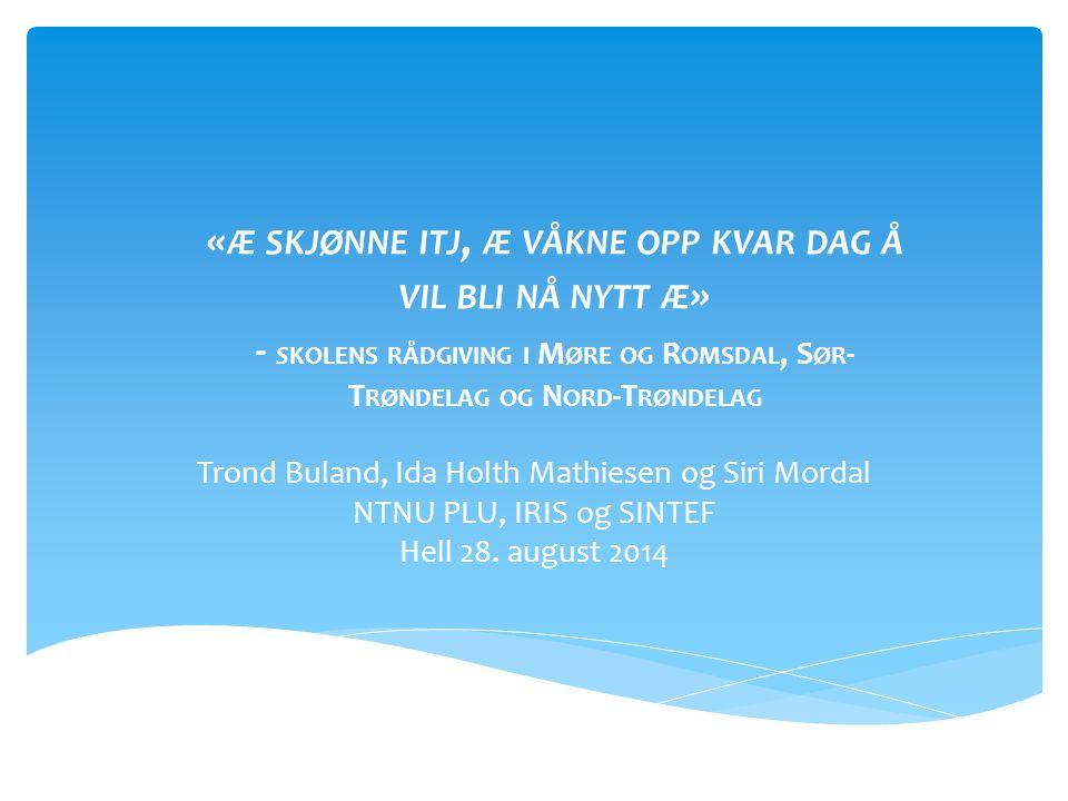 Trond Buland, Ida Holth Mathiesen og Siri Mordal