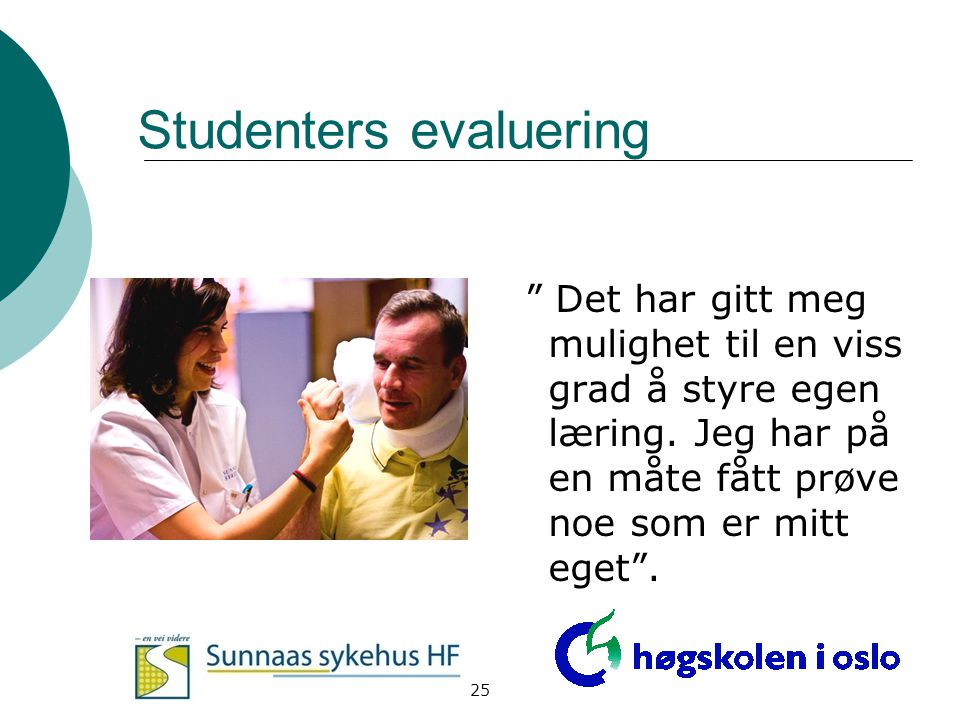 Studenters evaluering