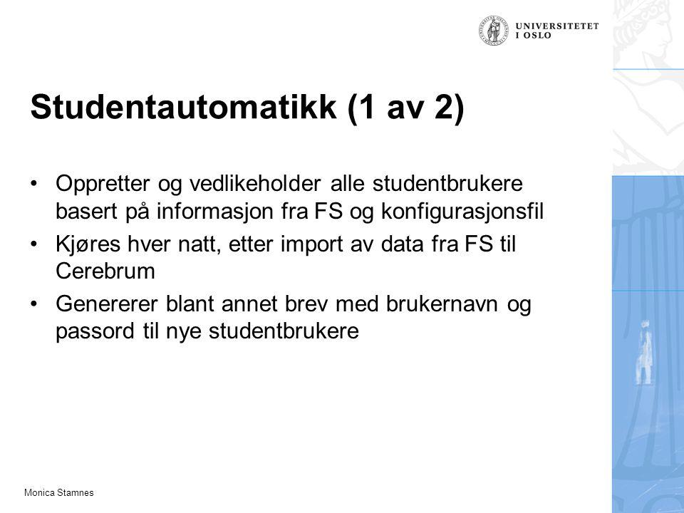 Studentautomatikk (1 av 2)