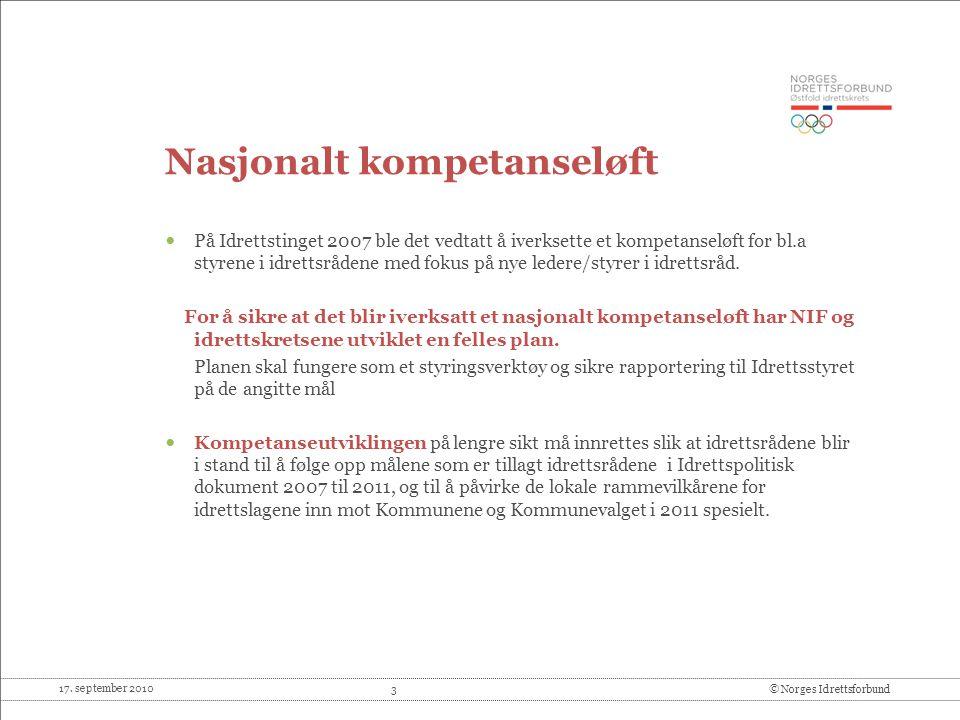 Nasjonalt kompetanseløft